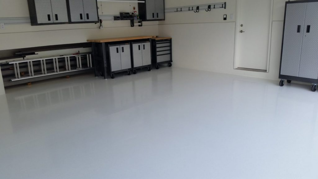 Metallic Epoxy Floor Palm Beach